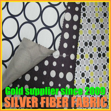 Double layer anti electromagnetic radiation fabric