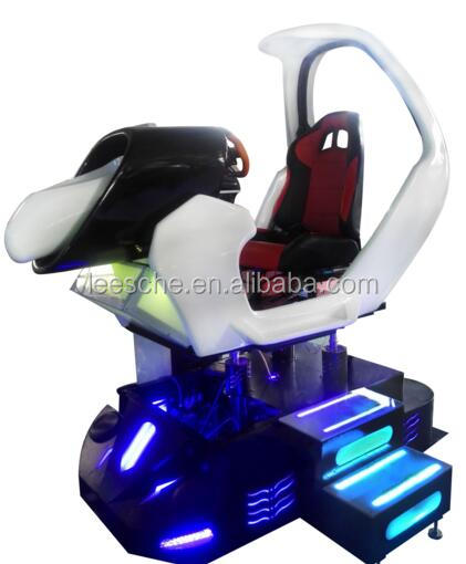 Indoor 9d vr game machine playing vr car simulator driving simulator game machine for sale