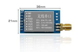 Ebyte E34-ttl-100 2 4ghz 2100m Rf Transmitter And Receiver Module - Buy  2 4ghz Rf Transmitter And Receiver Module,100mw Rf Transmitter And Receiver