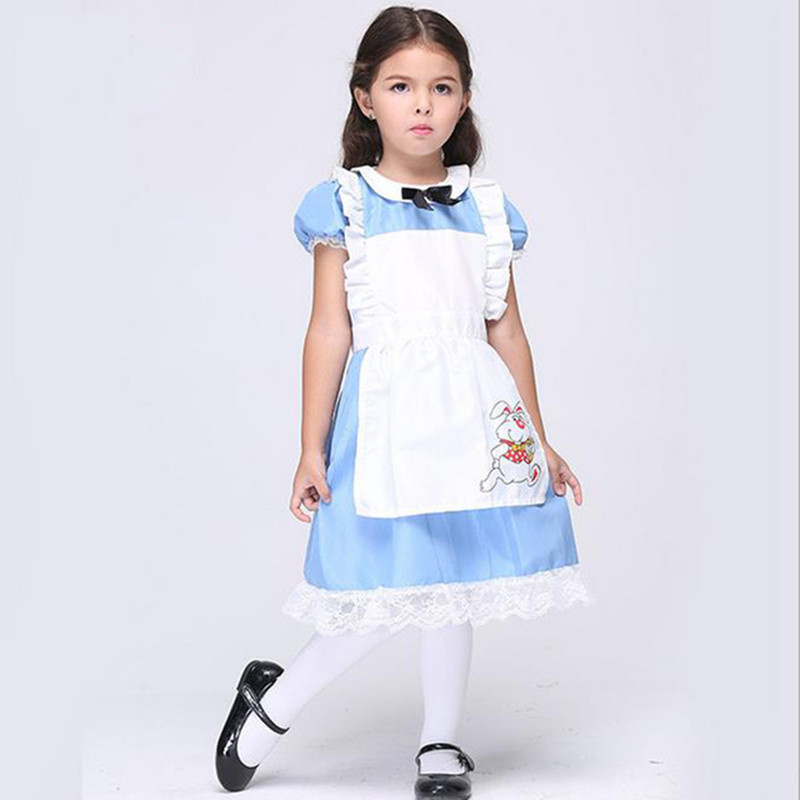 Halloween Costume For Kids Girls In Cosplay Colthing Alice ...