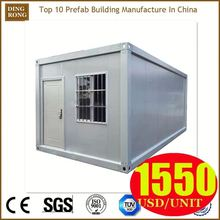 metal shed wooden container house for living