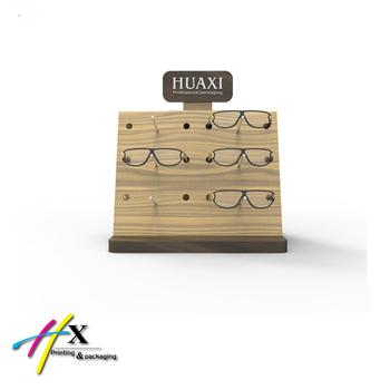 d0f3d05ce41a79 Luxe Driehoek Houten Eyewear Houders Zonnebril Display Stand - Buy ...