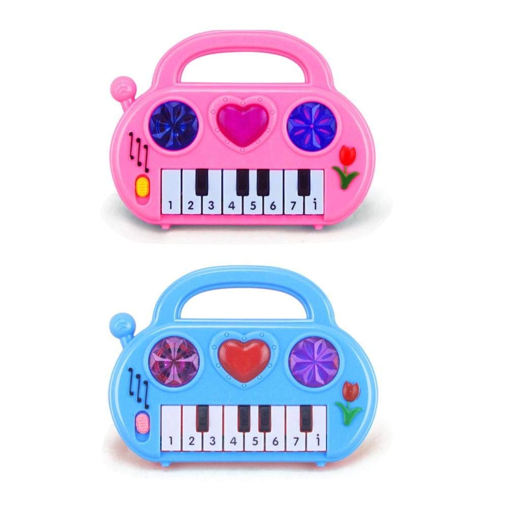 72bdb56a1f748 Get Quotations · Dacawin(TM) Useful Popular Baby Kid keyboard Piano Music  Toy Developmental Toy Gift (