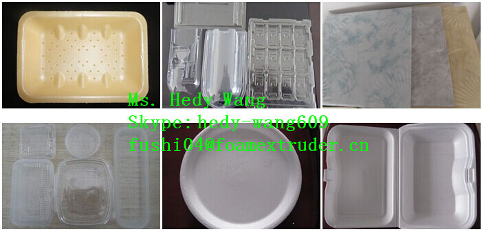BEST SELLING PS FOAM THERMOCOL PLATE MAKING MACHINE