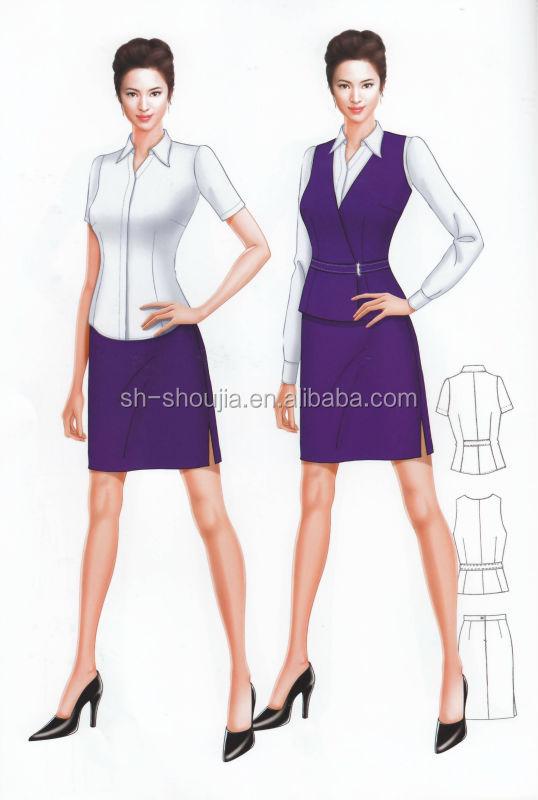 Casual Office Uniform, Ladies Office Uniform,girls Business Suit