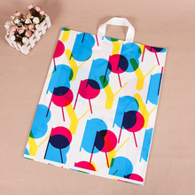 2017 trending products reusable merchandise handle plastic bag