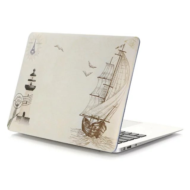 best quality mouse flower animal printed custom laptop shell case for macbook pro retina13 hard cover