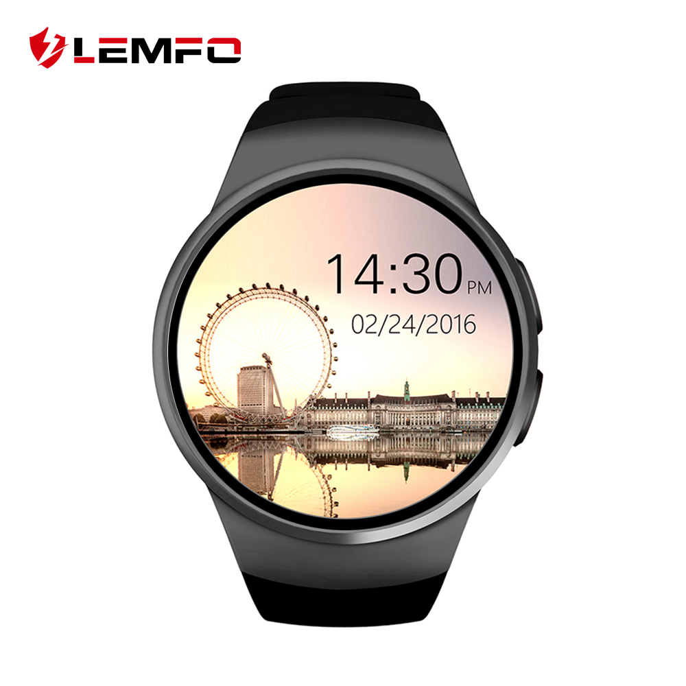 2016 Newest LEMFO Bluetooth Smart Watch Full Screen Smartwatch Phone Support