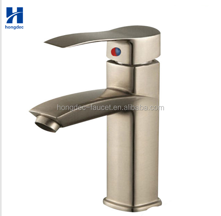 304-Stainless-Steel-Bathroom Basin Vessel Sink Faucet Mixer Tap