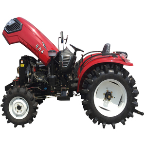 Four Wheel Driving 60hp Agricultural Tractor With Cabin