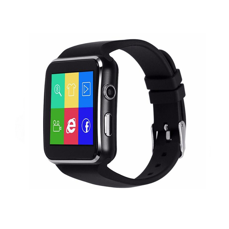 Wholesale Bluetooth Smart watch X6 Android SIM Card and Camera Smart Watch Phones PK GT08 Smart watch