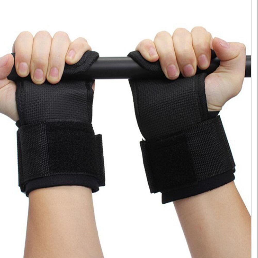9281555aeb2e Tiger Paws Gymnastics Black Wrist Wraps | Adjustable Wrist Support | Wrist  Injury Prevention /(