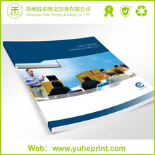 200g recycled paper luxury direct factory softcover print varnishing finishing catalog printing