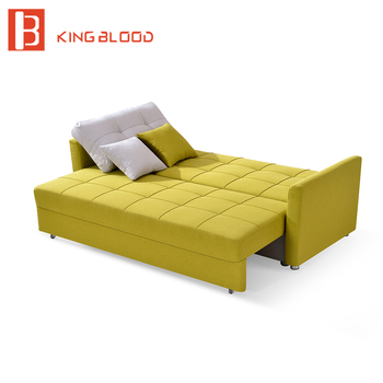 Canada Fabric Storage Sofa Bed Wooden Designs Product