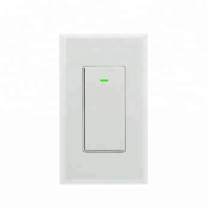 Waterproof wireless remote control bluetooth light switch in wall