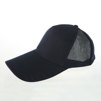 Wholesale Polyester 5 Panel Blank Cool Off Mesh Back Trucker Hats ... 8395f2d33a3