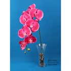 home decorative newest artificial pink phalaenopsis orchid cut flower