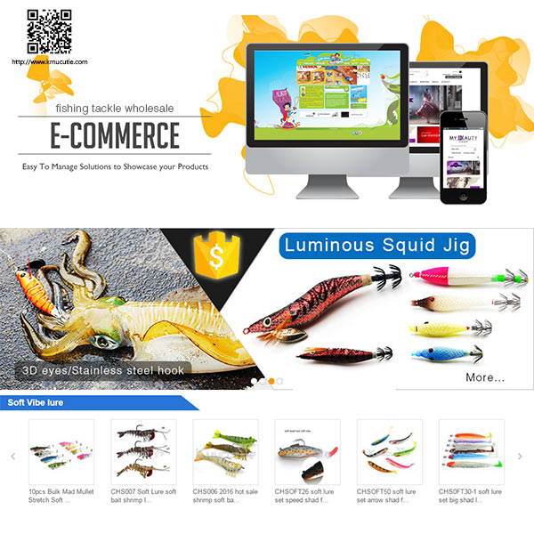 e-commerce assistant wooden lure making online web site