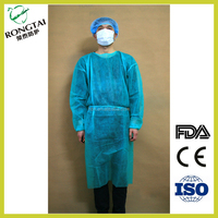 S/M/L/XL Operation sterile disposable surgical polyethylene Isolation gowns