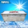 Top grade top sell SUS flat pan fried ice cream making machine