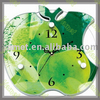 Colorful Acrylic Apple Shape Clock With High Quality