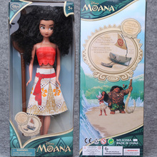 2016 Newest Moana Action Figure Custom Vinyl Figure Back Doll Toys