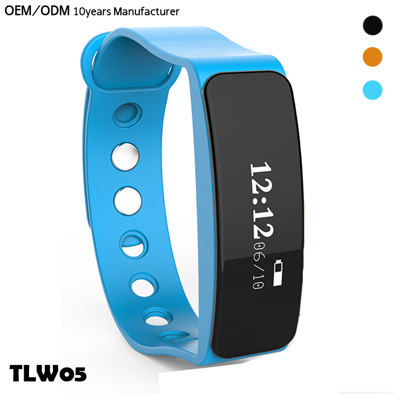 New Design fitness waterproof IP66 fit bit bracelet activity tracker smart with high quality