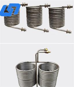 Strong anti-corrosion titanium chiller coil with good quality