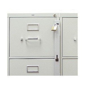 Get Quotations · Locking Bar For Use With 1 Drawer Filing Cabinet (cabinet  Not Included)