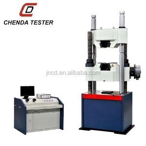 WAW-1000C Computer display hydraulic universal testing machine with Worm gear system Scientific equipment