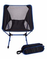 Carries Lightweight Ultra-Compact Folding Ground Camp Chair Aluminum Alloy