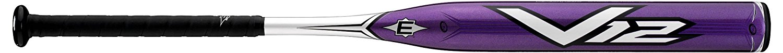 Easton SV12 Fast Pitch Softball Bat, Purple, 33/20.5