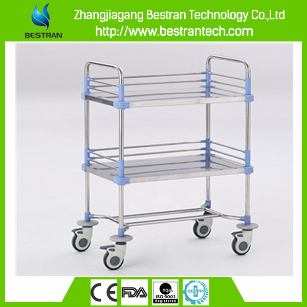 BT-SPY007 General use stainless steel medical trolley