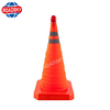 Road Safety Guiding Collapsible Traffic Cones with Light