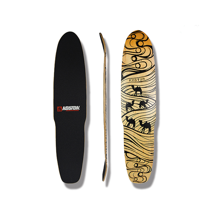 Pro quality dancing style 8 ply Canadian maple laminated longboard deck