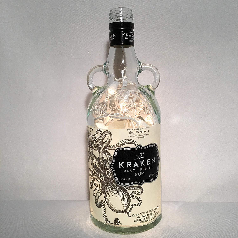 The Kraken Bottle Lamp Kit.