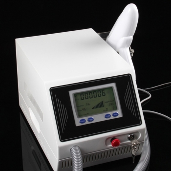 Home use Q-switch nd yag Laser 1064 532nm working machine with Medical CE and ISO