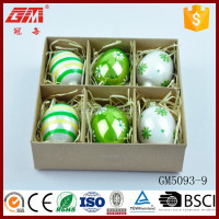 wholesale easter glass egg decoration and gifts