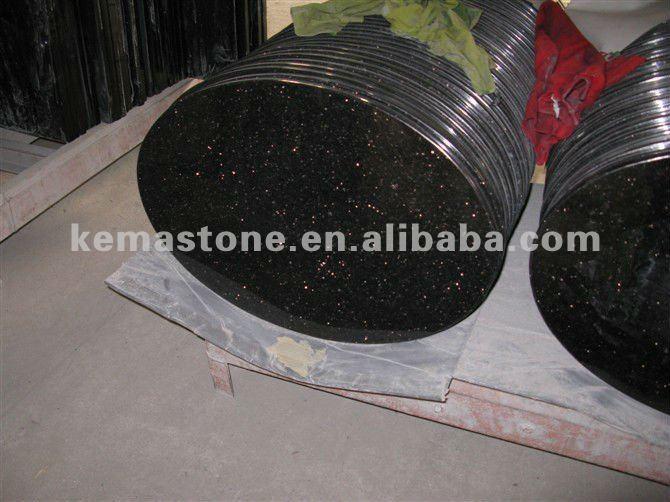 Negro Ronda Granito Mesas De Cocina Superior - Buy Product on ...