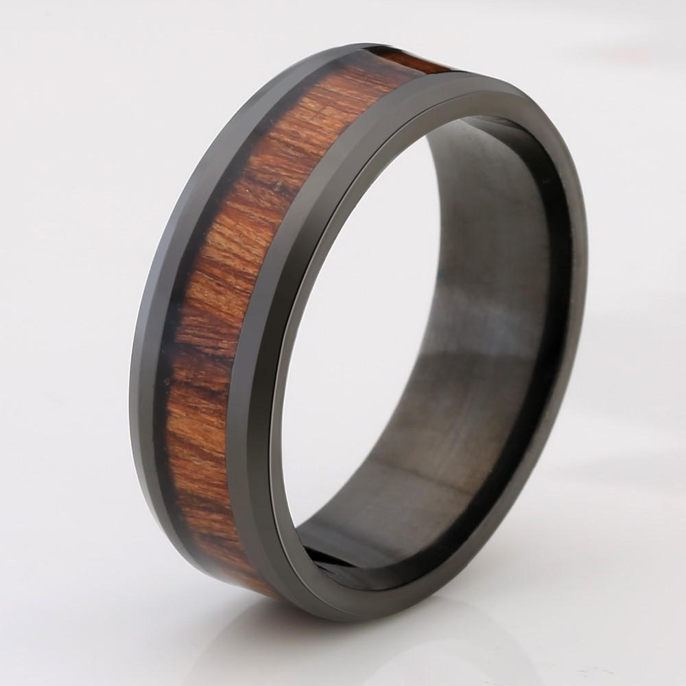 8ef08ddf7dd9 Титановые Обручальные Кольца Для Мужчин Винтаж Обручальное Кольцо 8 ...