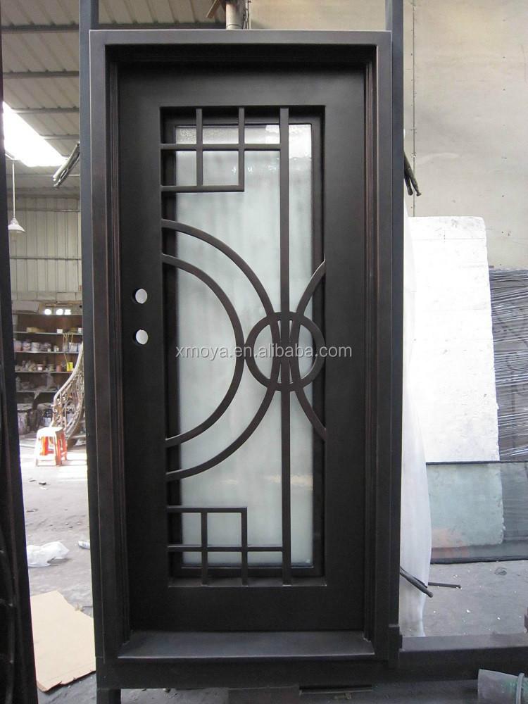 Hierro forjado puerta de entrada de dise o puertas for Porte spanish