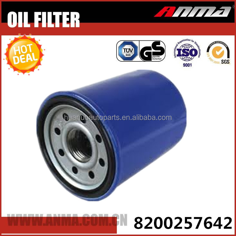 Hot Selling price Auto Oil Filter OEM 8200257642 In China