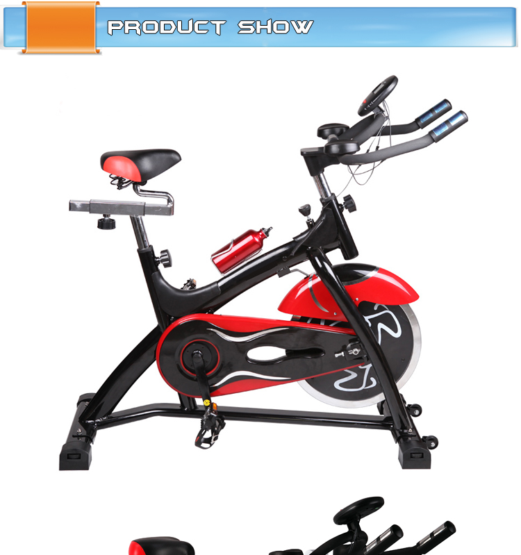 Home Using Upright Body Sculpture Spin Bike/indoor Sports ...