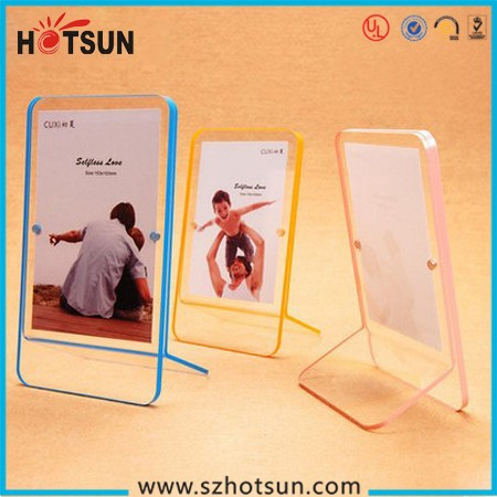 2015 new style acrylic waterproof photo frame