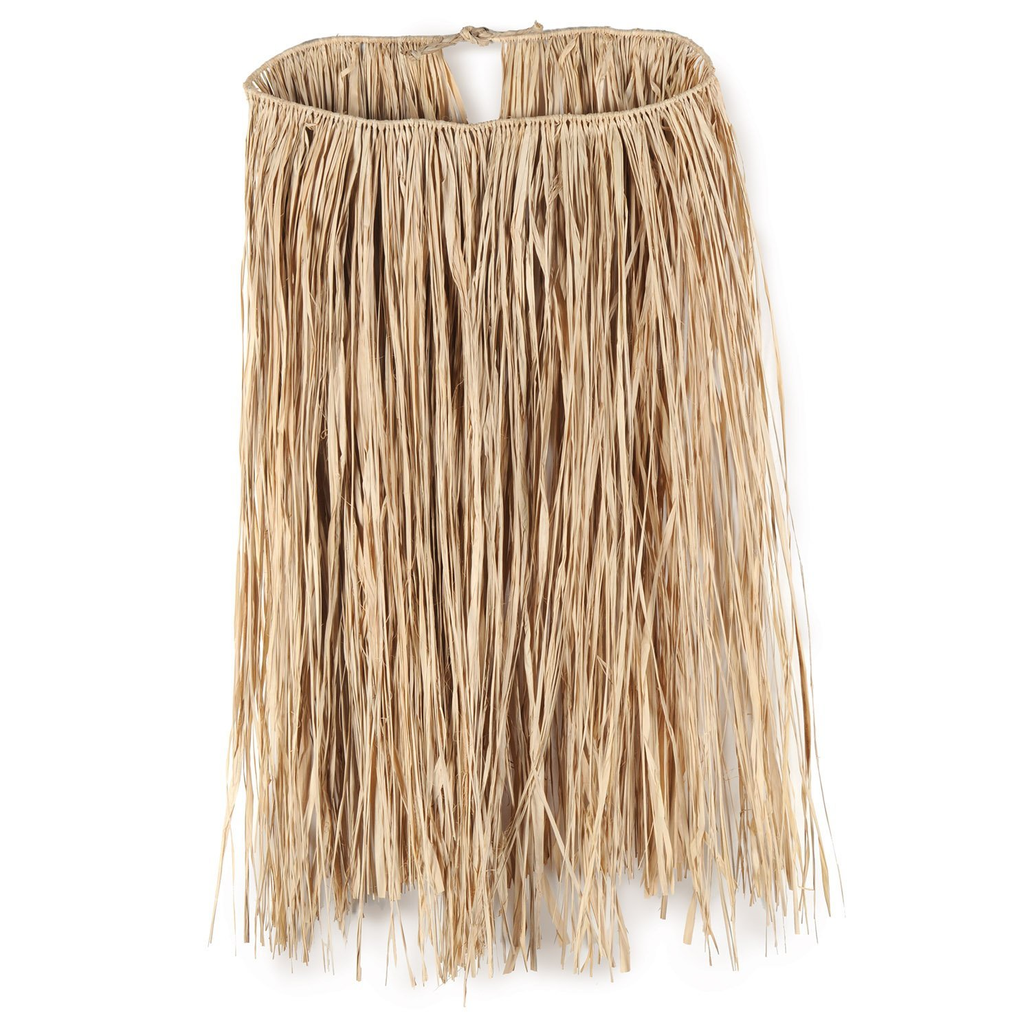 King Size Raffia Hula Skirt (natural) Party Accessory (1 count) (1/Pkg)