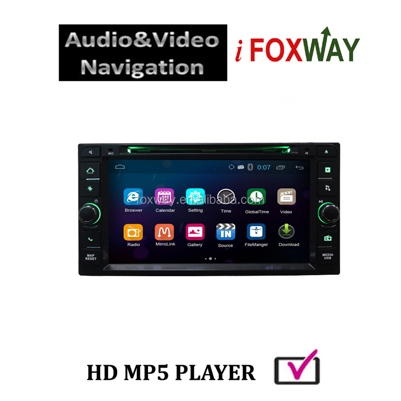 Car gps navigation mediatek AC8317 1024x600 pixels with free map,mirror link ,airpaly mirroring &handfree bluetooth