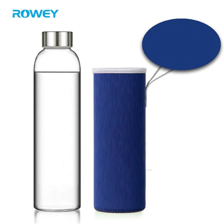 China Wholesale Sport Pure Portable Glass Juice Drink Bottle For Beverage
