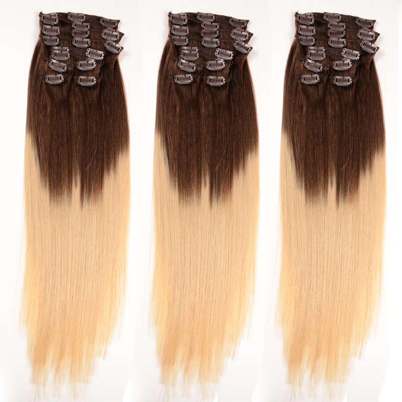 120g 150g two tone quad weft clip on hair extensionbohemian remy 120g 150g two tone quad weft clip on hair extension bohemian remy clip in human pmusecretfo Gallery