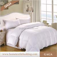 China Factory 90% Hurgairan White Goose down quilt home and hotel use