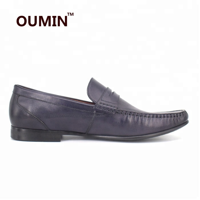 flat genuine brand fashion loafers men penny shoes leather Y5xZwq